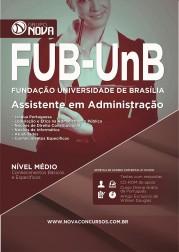 Apostila FUB - UNB – Assistente em Administração