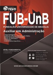 Apostila FUB UNB – Auxiliar em Administração
