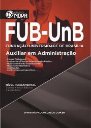 Download Apostila FUB UNB – Auxiliar em Administração