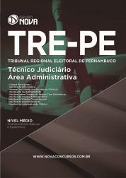Download Apostila TRE - PE Pdf – Técnico Judiciário - Área Administrativa