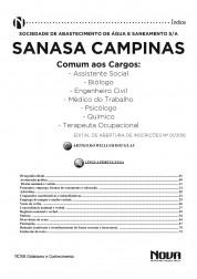 Apostila SANASA – Cargos de Nível Superior