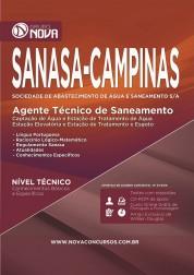Apostila SANASA – Agente Técnico de Saneamento