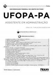 Download Apostila UFOPA Pdf – Assistente em Administração