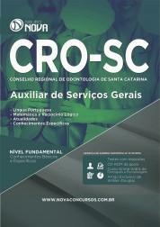 Apostila CRO - SC – Auxiliar de Serviços Gerais