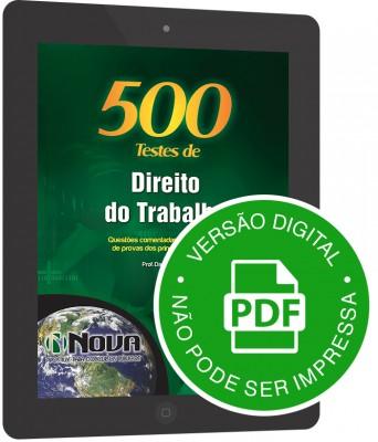 500 Testes de Direito do Trabalho (Digital)