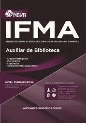 Apostila IFMA - Auxiliar de Biblioteca