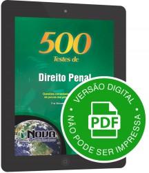 500 Testes de Direito Penal (Digital)