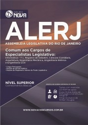 Apostila ALERJ – Comum aos Cargos de Especialistas Legislativo