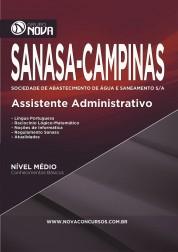 Download Apostila SANASA Pdf – Assistente Administrativo
