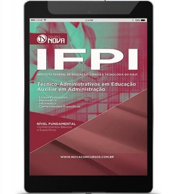 Download Apostila IFPI – Auxiliar em Administração