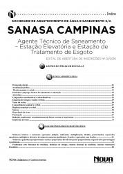 Download Apostila SANASA Pdf – Agente Técnico de Saneamento