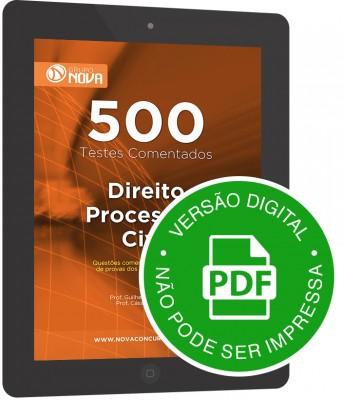 500 Testes de Direito Processual Civil (Digital)
