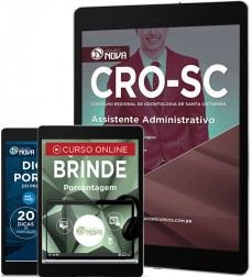 Download Apostila CRO - SC Pdf – Assistente Administrativo