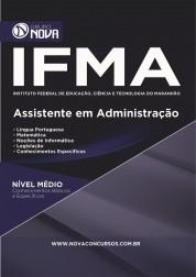 Download Apostila IFMA Pdf - Assistente em Administração