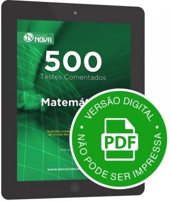 500 Testes de Matemática (Digital)