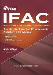 Download Apostila IFAC Pdf - Auxiliar em Assuntos Educacionais e Assistente de Alunos