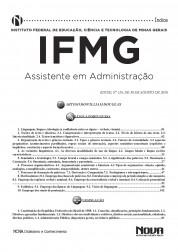 Apostila IFMG - Assistente de Administração