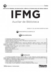 Apostila IFMG - Auxiliar de Biblioteca