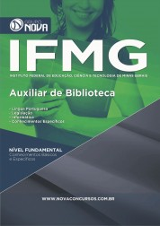 Download Apostila IFMG Pdf - Auxiliar de Biblioteca
