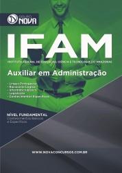 Download Apostila IFAM Pdf – Auxiliar em Administração