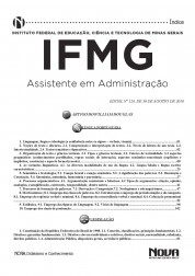 Download Apostila IFMG Pdf - Assistente de Administração