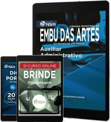 Download Apostila Embu das Artes Pdf – Auxiliar Administrativo