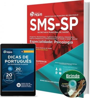 Apostila SMS SP - Especialidade: Psicologia