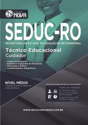 Apostila SEDUC - RO – Técnico Educacional Cuidador