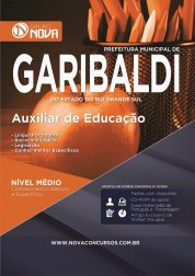 Apostila Garibaldi – Auxiliar de Educação