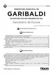Apostila Garibaldi - Secretário de Escola