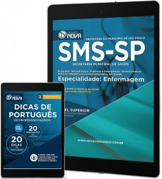 Download Apostila SMS SP Pdf - Especialidade: Enfermagem