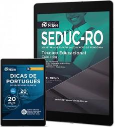 Download Apostila SEDUC - RO Pdf – Técnico Educacional Cuidador