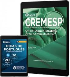 Download Apostila CREMESP Pdf - Oficial Administrativo - Administrativa