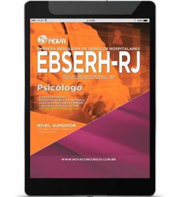 Download Apostila EBSERH - RJ Pdf – Psicólogo