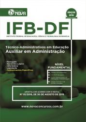 Apostila IFB - DF – Auxiliar em Administração