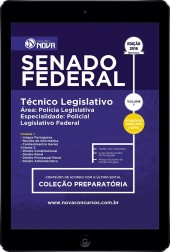 Download Apostila Senado Federal Pdf - Técnico Legislativo Especialidade: Policial Legislativo Federal