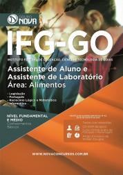 Apostila IFG - GO – Assistente de Aluno e Assistente de Laboratório - Área: Alimentos