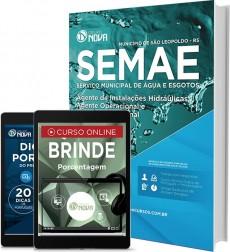 Apostila SEMAE – Agente de Instalações Hidráulicas, Agente Operacional e Artífice Operacional