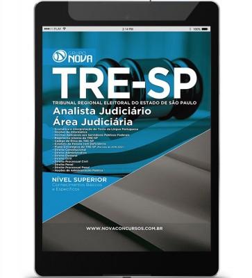Download Apostila TRE SP Pdf - Analista Judiciário - Área Judiciária