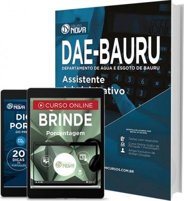 Apostila DAE - BAURU – Assistente Administrativo
