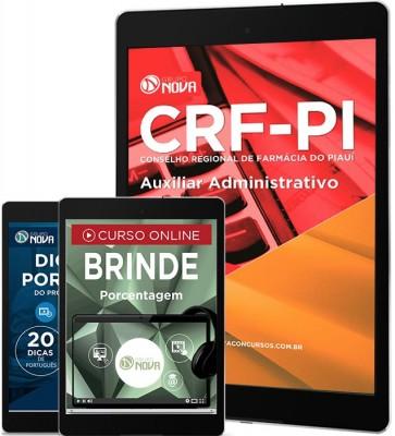 Download Apostila CRF PI Pdf - Auxiliar Administrativo