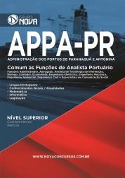 Download Apostila APPA PR Pdf - Comum as Funções de Analista Portuário