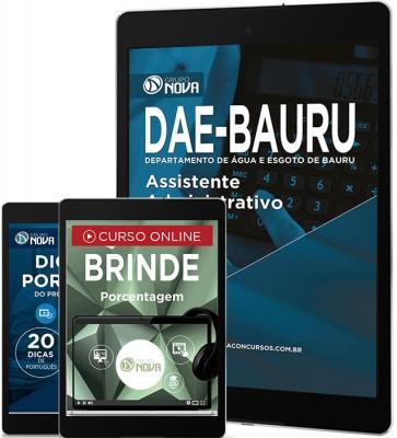 Download Apostila DAE - BAURU Pdf – Assistente Administrativo