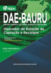 Download Apostila DAE - BAURU Pdf – Operador de Estação de Captação e Recalque