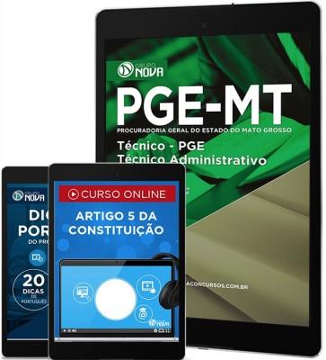 Download Apostila PGE MT - Técnico Administrativo
