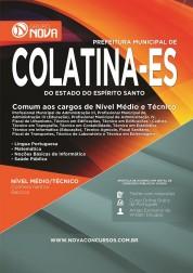 Apostila Colatina – Comum aos cargos de Nível Médio e Técnico
