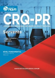 Download Apostila CRQ - PR Pdf – Servente