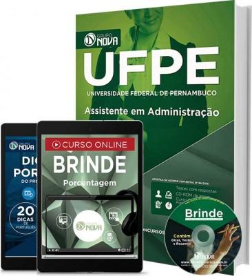Apostila UFPE - Assistente em Administração