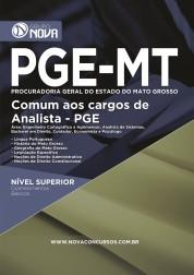 Download Apostila PGE MT - Cargos de Analista