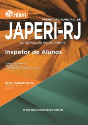 Download Apostila Japeri RJ Pdf – Inspetor de Alunos